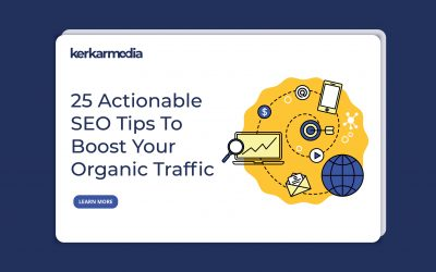 25 Actionable SEO Tips To Boost Your Organic Traffic